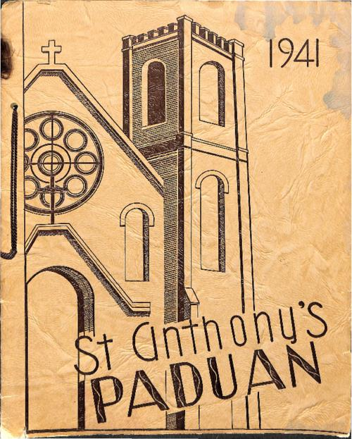 St. Anthony's Paduan was the yearbook for St. Anthony's High School in Sterling, CO