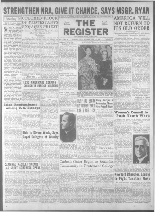 Part of the Denver Catholic Register