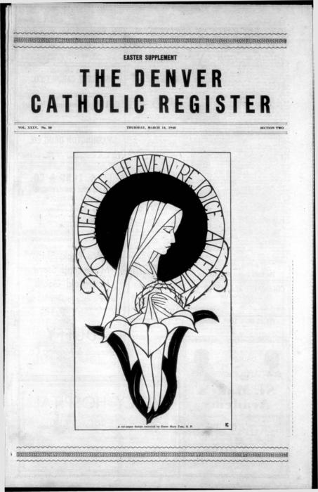 Special Easter supplement to the Denver Catholic Register