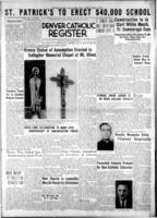 Denver Catholic Register August 29, 1940