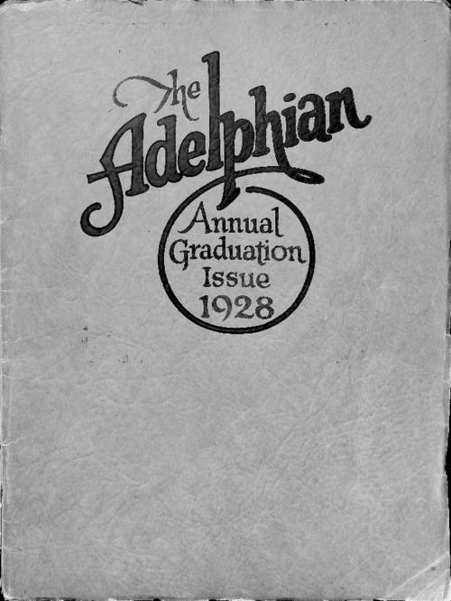Graduation issue of the Adelphian, the magazine of Sacred Heart High School in Denver.  Publication contains articles by students and about the high school and grade school.  Publication also contains photographs of the High School classes