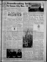 Southern Colorado Register October 28, 1960