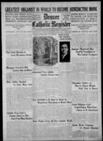 Denver Catholic Register April 13, 1922