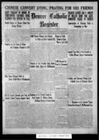 Denver Catholic Register March 20, 1924
