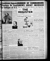 National Catholic Register January 23, 1955