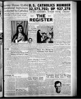 National Catholic Register May 29, 1955