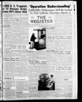 National Catholic Register January 22, 1956