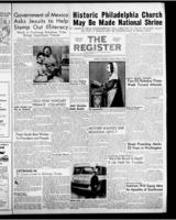 National Catholic Register April 8, 1956