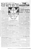 National Catholic Register November 26, 1959