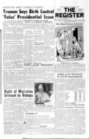 National Catholic Register December 10, 1959