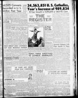 National Catholic Register May 26, 1957