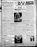 National Catholic Register October 27, 1957