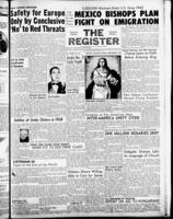 National Catholic Register December 8, 1957