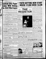 National Catholic Register December 22, 1957
