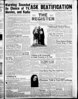National Catholic Register December 29, 1957