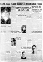 Denver Catholic Register April 20, 1944