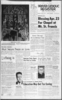 Denver Catholic Register April 11, 1963