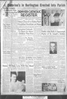 Denver Catholic Register August 25, 1949