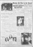 Denver Catholic Register September 8, 1949