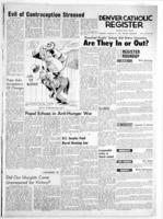 Denver Catholic Register January 21, 1965: National News Section