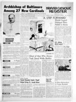 Denver Catholic Register January 28, 1965: National News Section