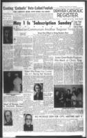 Denver Catholic Register April 28, 1960