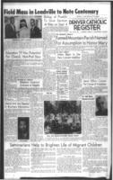 Denver Catholic Register August 11, 1960