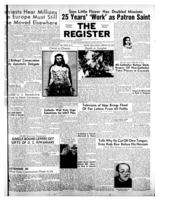 National Catholic Register February 24, 1952