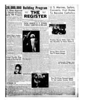National Catholic Register March 16, 1952