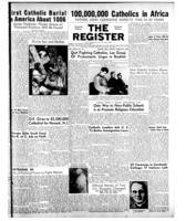 National Catholic Register March 23, 1952
