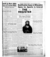 National Catholic Register April 6, 1952