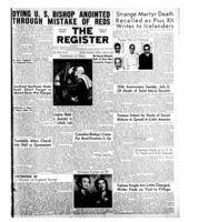 National Catholic Register June 29, 1952