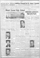 Denver Catholic Register April 12, 1951
