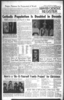 Denver Catholic Register December 15, 1960