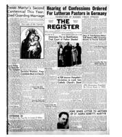 National Catholic Register July 13, 1952