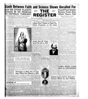 National Catholic Register August 10, 1952