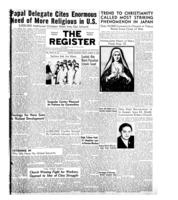 National Catholic Register August 17, 1952