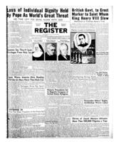 National Catholic Register August 24, 1952