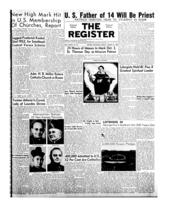 National Catholic Register August 31, 1952