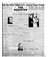 National Catholic Register September 14, 1952
