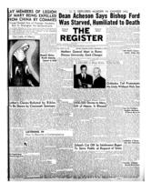 National Catholic Register September 21, 1952