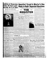 National Catholic Register November 9, 1952