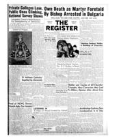 National Catholic Register December 28, 1952