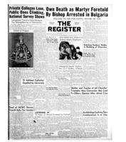 National Catholic Register December 28, 1952