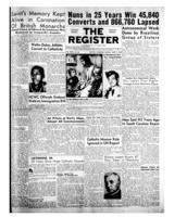 National Catholic Register June 7, 1953