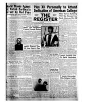 National Catholic Register October 11, 1953