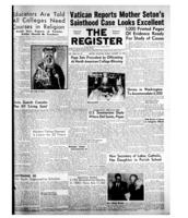 National Catholic Register October 18, 1953
