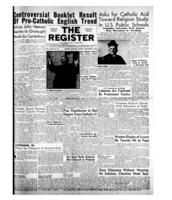 National Catholic Register November 8, 1953