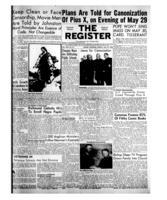 National Catholic Register May 23, 1954