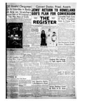 National Catholic Register August 8, 1954